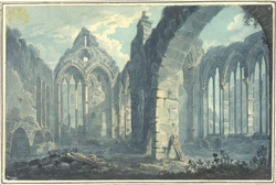 Internal View of the Priory or Hospital of St John the Evangelist